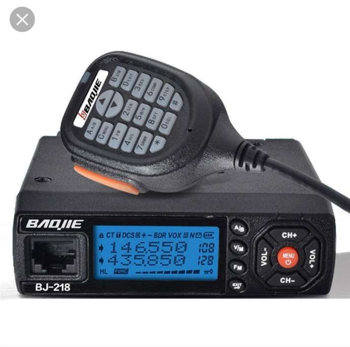 Radio Base Bibanda Baojie Bj218 25w