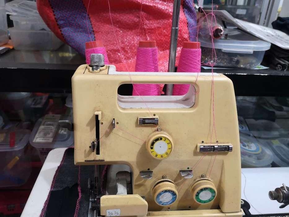 Máquina de Coser Remalladora Sem.industr