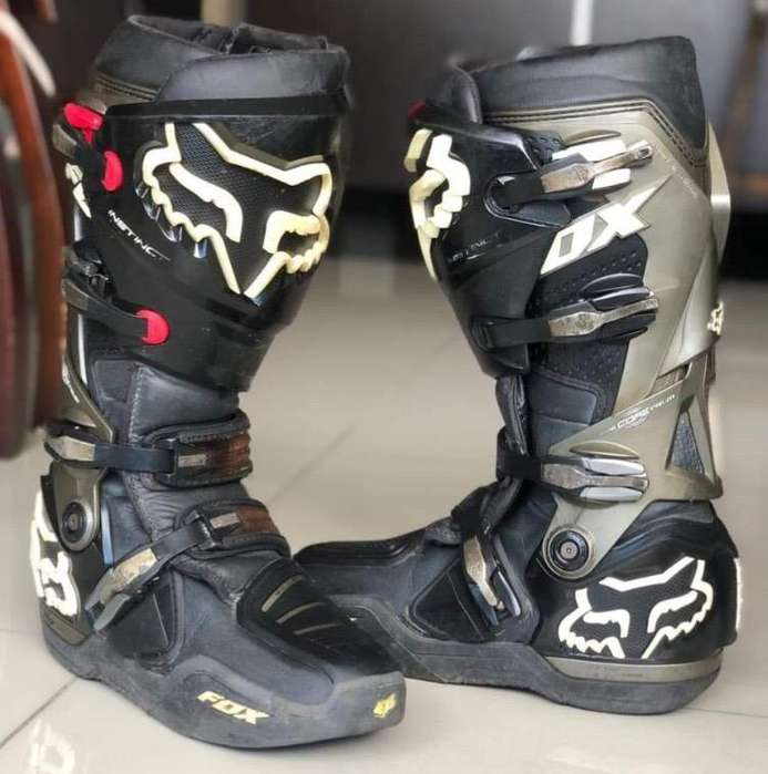 Fox botas moto motocross enduro