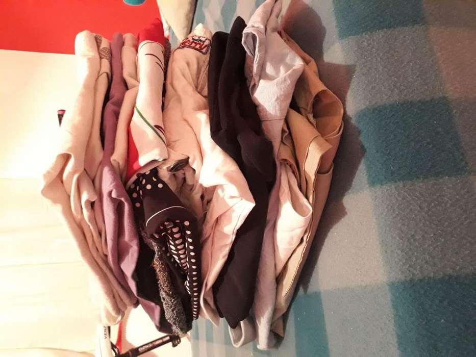 vendo bolson de 16 prendas (usadas)