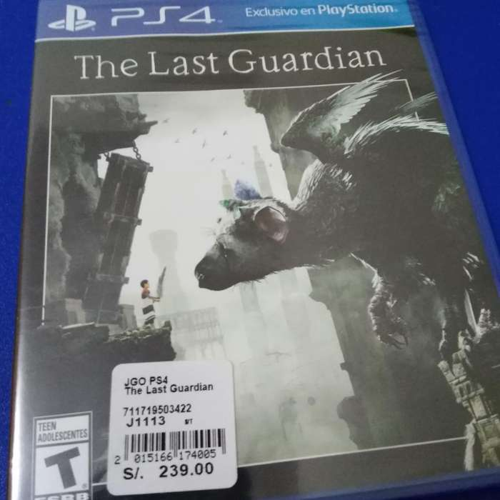 The Last Guardian Nuevo Ps4