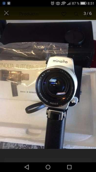 Antigua Filmadora Minolta Autopack 8D6 Super 8 Como Nueva!!
