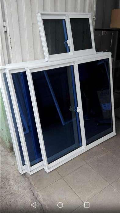 Ventanas Vidrio Y Aluminio Correderas