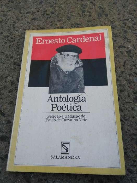 Antologia Poetica . Ernesto Cardenal . Libro en idioma portugues