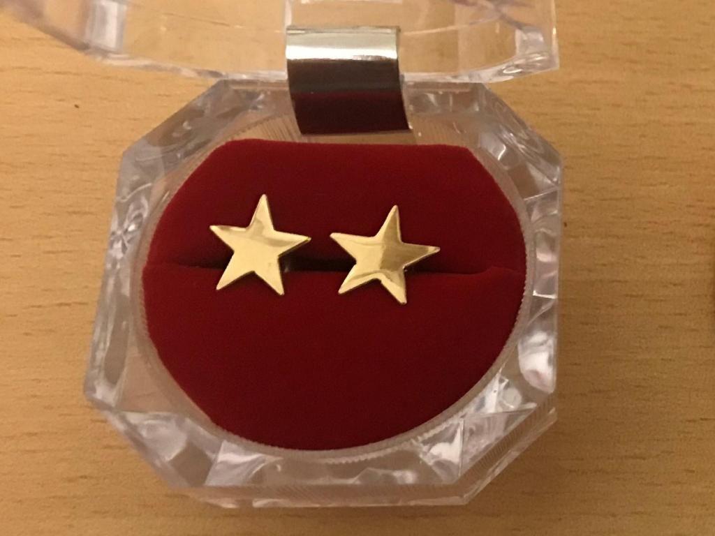 70ebb061030a Finos aretes de Estrellas