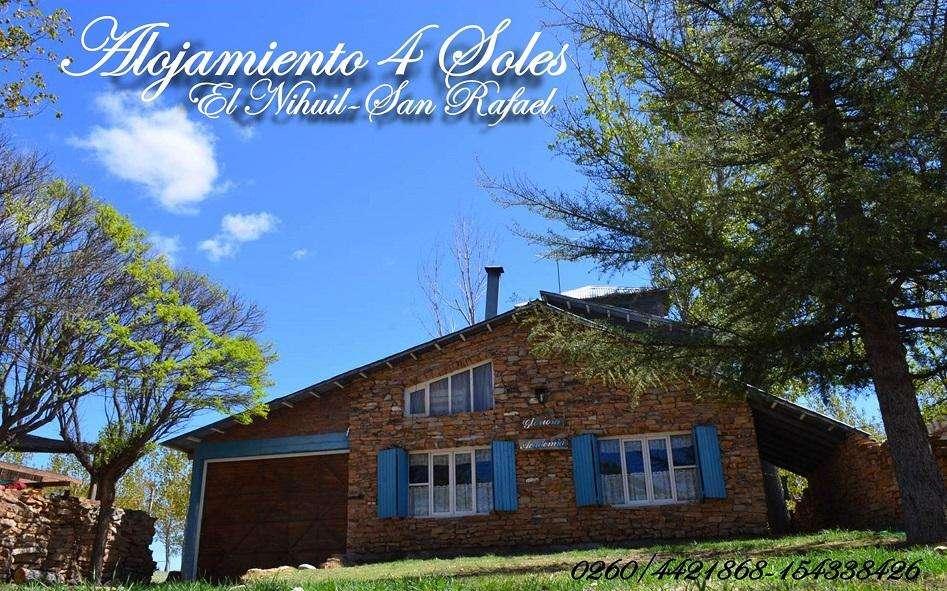 San Rafael, El Nihuil Club de Pescadores desde 2.500 diarios