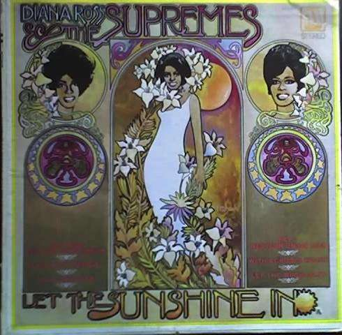 DIANA ROSS THE SUPREMES LET THE SUNSHINE IN MOTOWN MS689 STEREO – 1969 AUDIOMAX