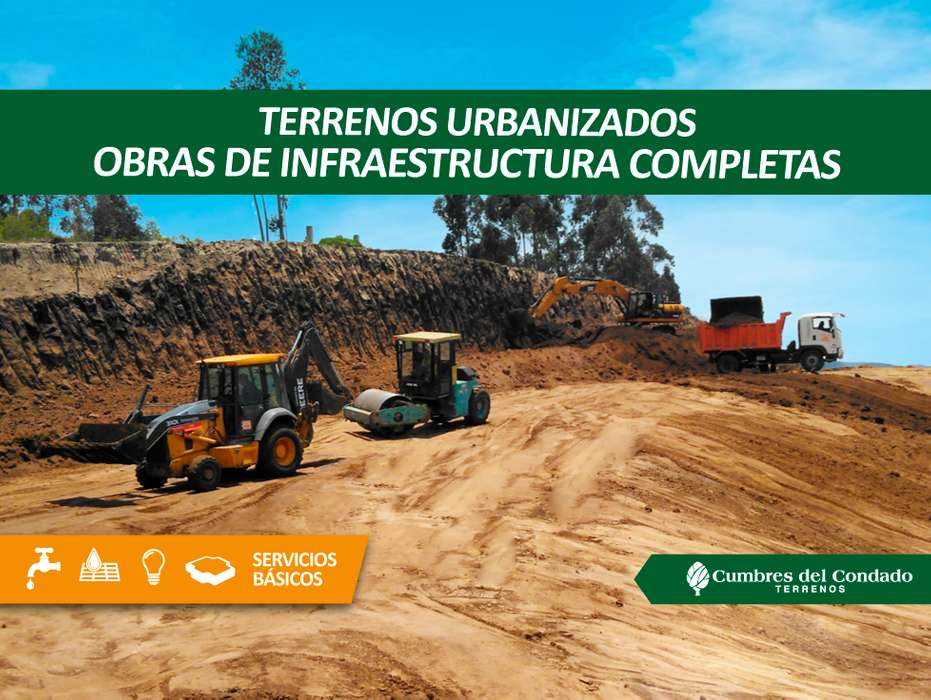 Terrenos de venta en el norte de Quito obras de infraestructuras completas con escrituras individuales