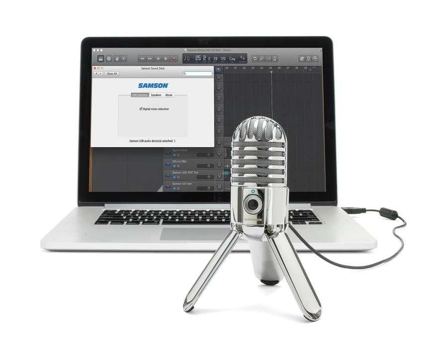Samson Meteor Mic USB Studio Micrófono de condensador