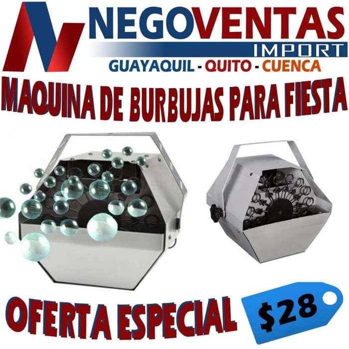MAQUINA DE BURBUJA PARA FIESTAS
