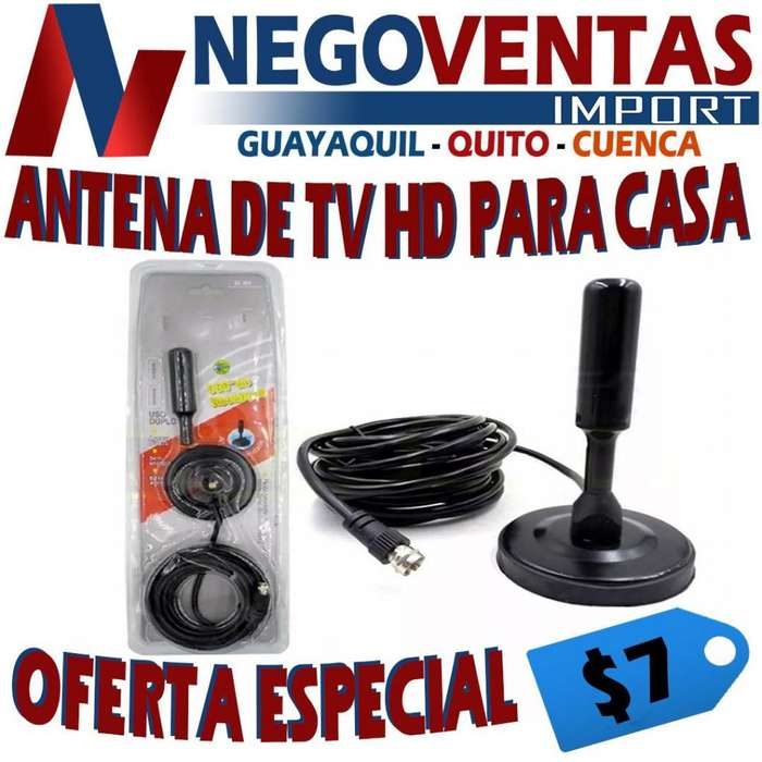 ANTENA DE TV HD PARA CASA