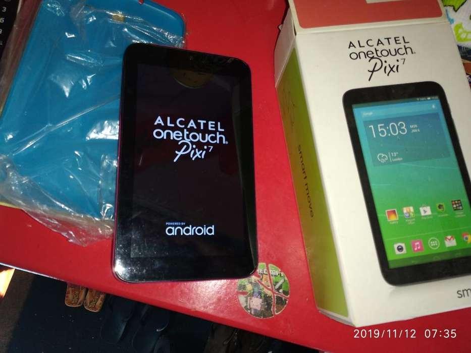 Tablet 7 Alcatel Acep Rota Parte Pago