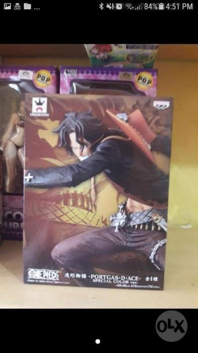 One Piece Ace Banpresto Figura Nueva