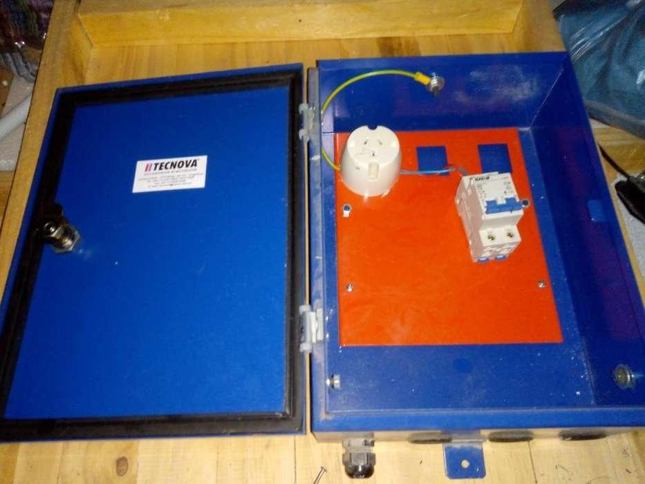 Caja Metálica para Electrididad Exterior