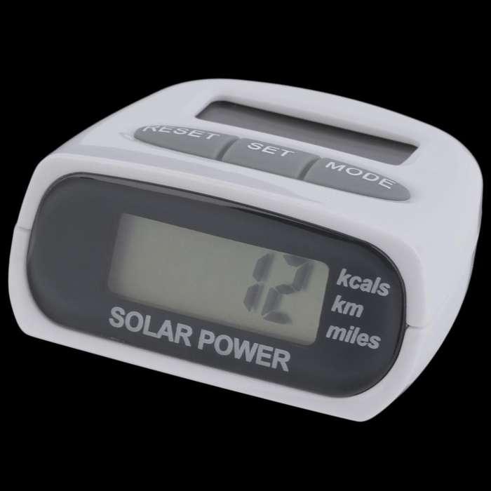 Podómetro Multifuncional Electrónico Energía Solar