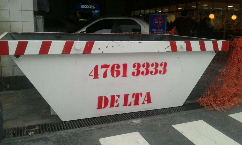 retiro de tierra escombros podas alquiler de volquetes 47613333