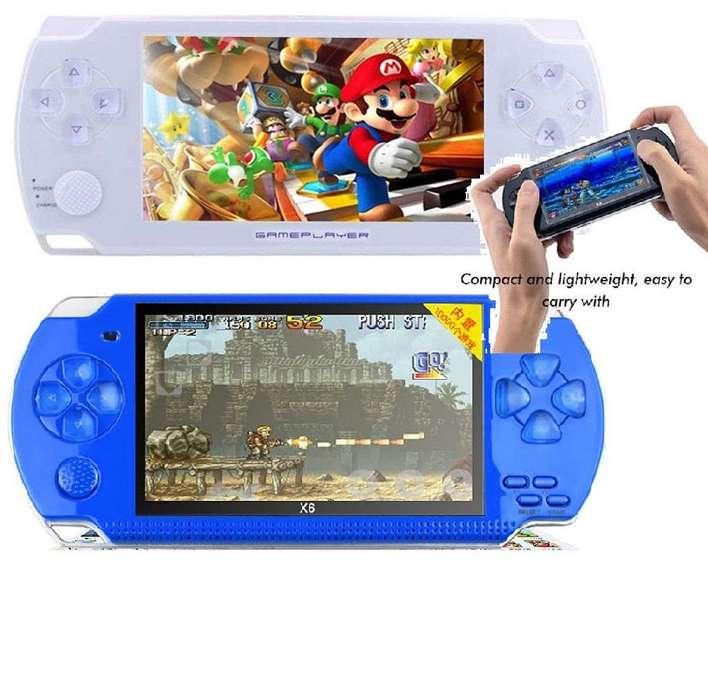 Mp5 Tipo Psp Genérico 4Gb 32Bits 1000 juegos edición especial ps1, nintendo, sega, family, gameboy advance, etc...