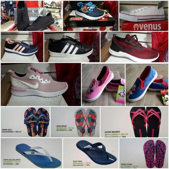 Zapatillas Disney Y Sandalias Ipanema ORIGINALES