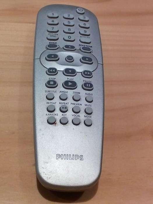 Control Remoto Televisor y DVD Philips Original