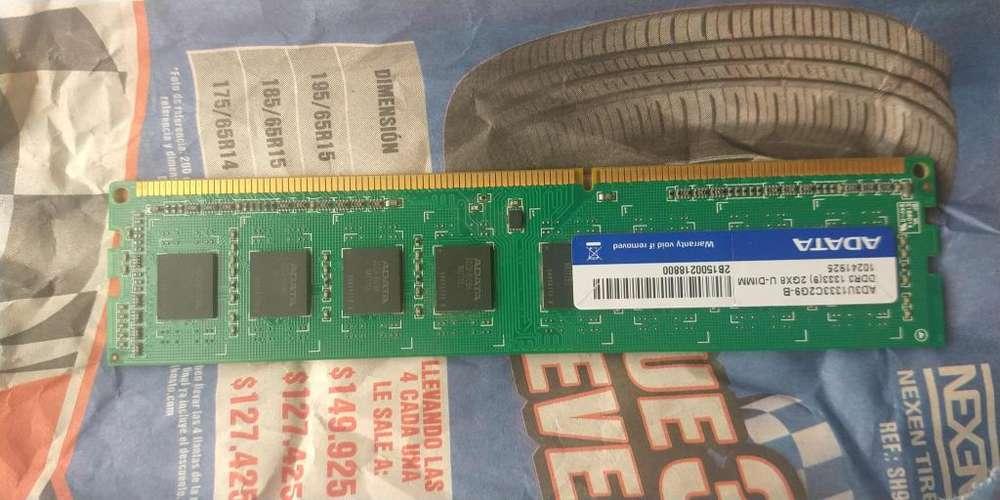 Memoria Ram DDr3 2 gb pc de mesa