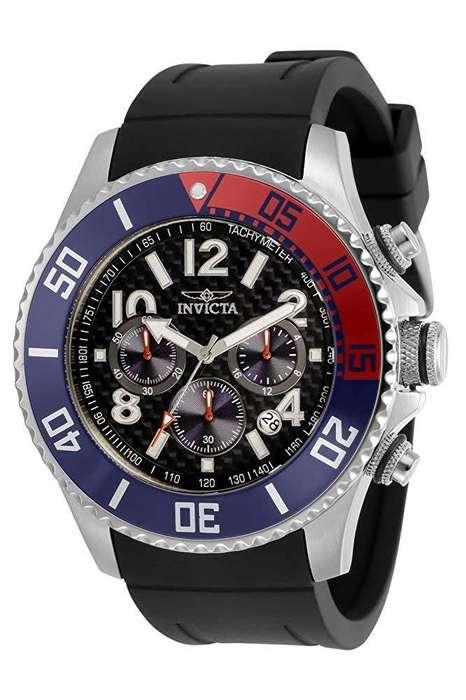 Reloj Hombre Invicta Pro Driver Dorado Bisel Pepsi 29711
