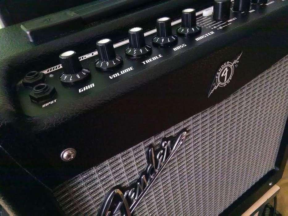 Amplificador Fender Mustang 1 v2(Semi Nuevo) Regalo