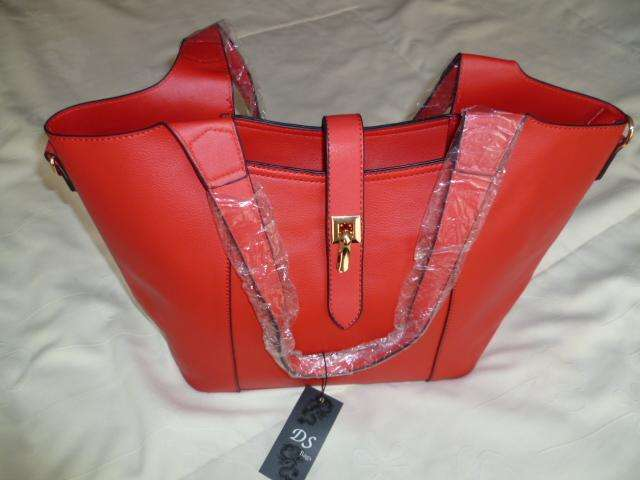 Cartera Roja Doble Uso