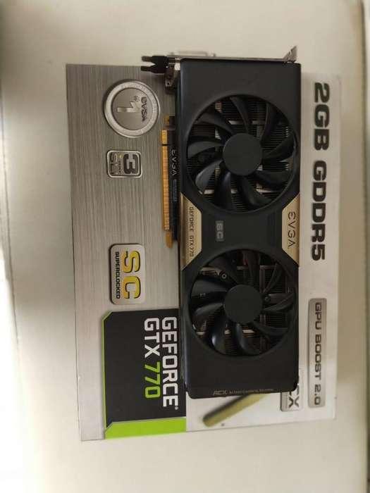 Tarjeta grafica GTX 770 2GB GDDR5