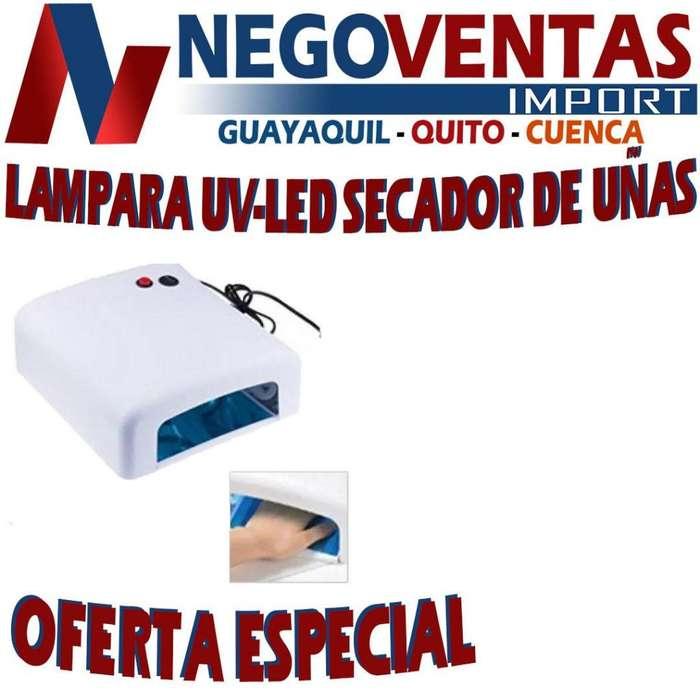 LAMPARA UV-LED SECADORA DE UÑAS DE 35 WATTS