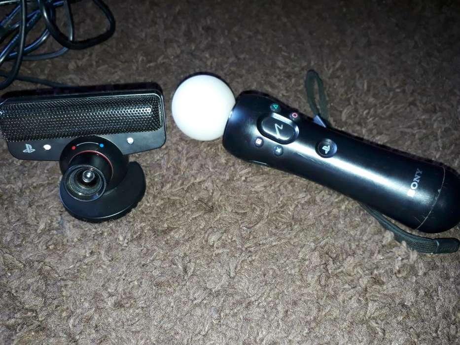 Vendo Camara Y Motion Controller de Ps3