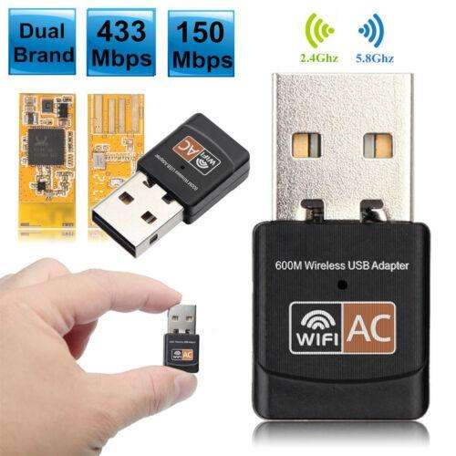 ADAPTADOR USB WIFI 600Mbps