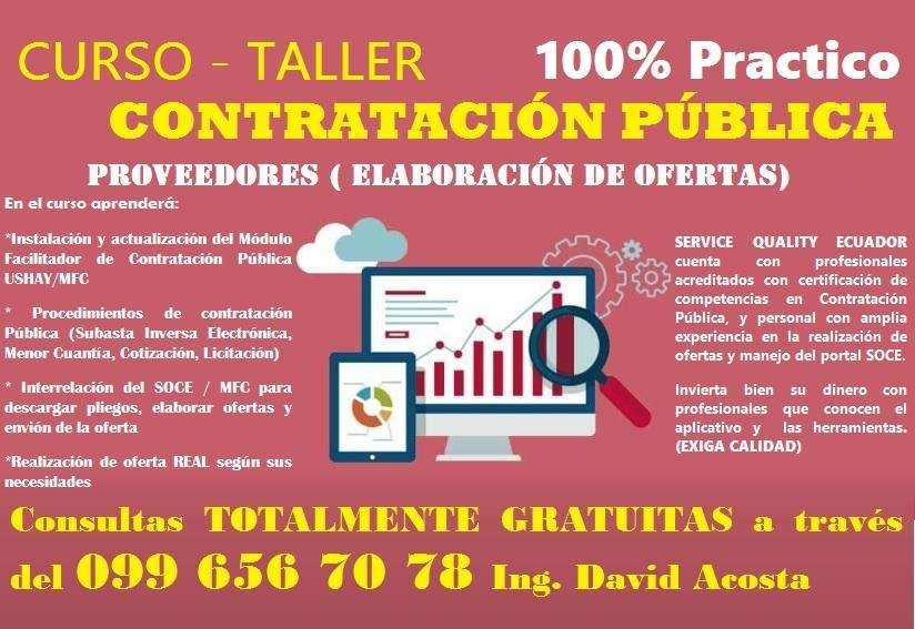 Curso-Taller 100% Contrataciòn Pública MFC, SUHAY, SOCE