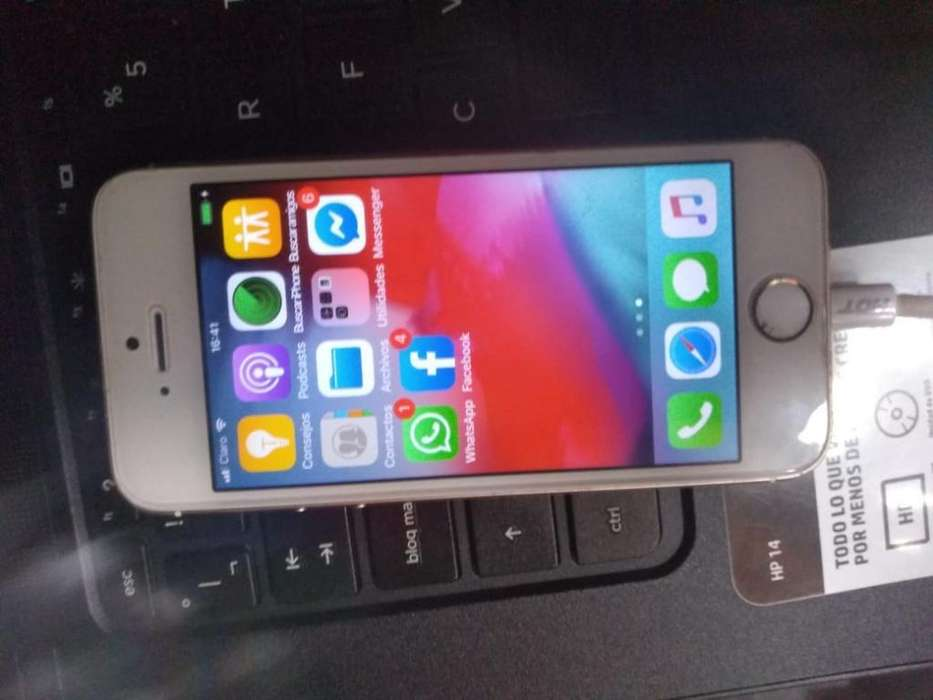 Vendo iPhone 5s en 100 Negociable