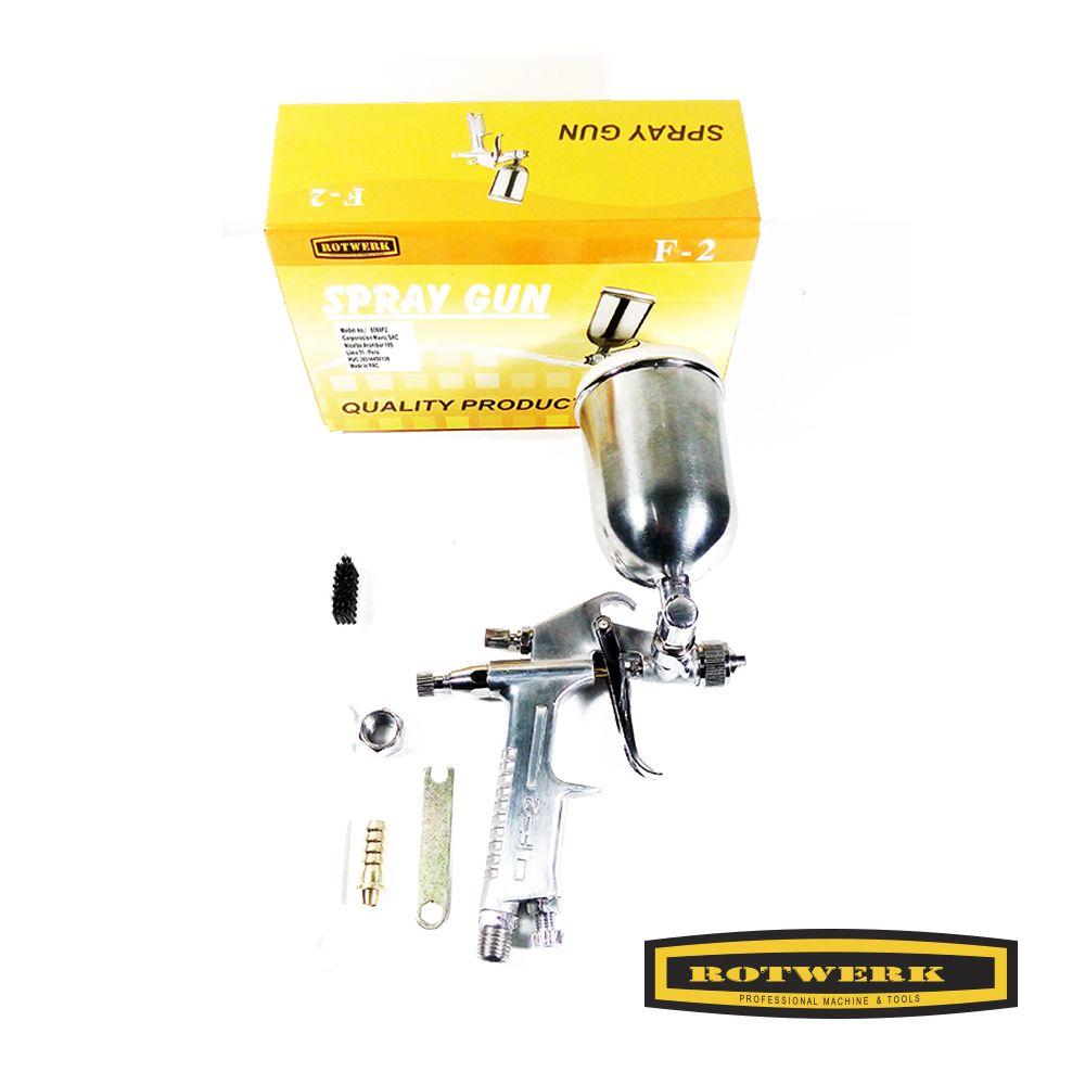 Pistola de Pintar Baja Presión/ Rotwerk/ 8060F2