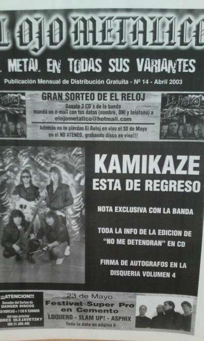 Fanzine El ojo Metalico nro.14