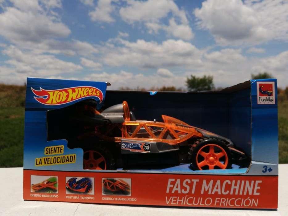 Fast Machine Hotwheels