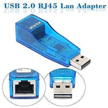 Adaptador Usb A Rj45 Lan Red Ethernet Windows