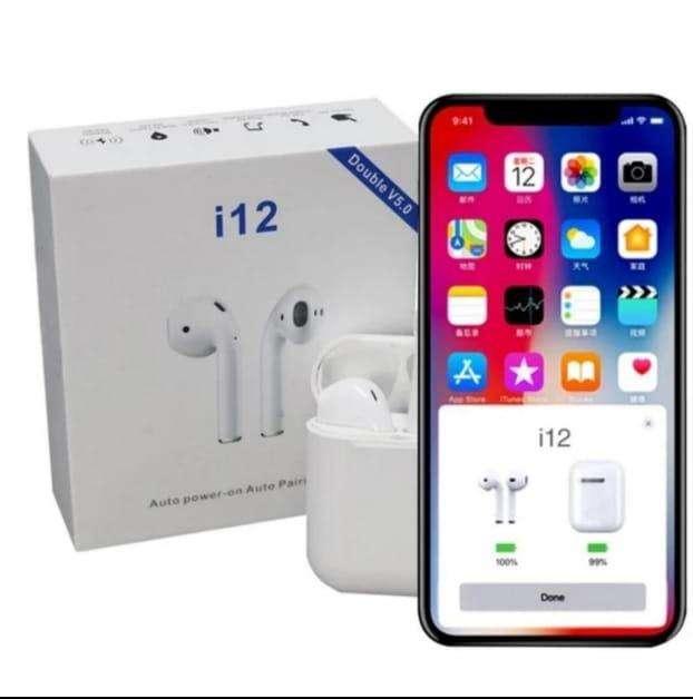 Audifonos I12 Replica exacta de Airpods