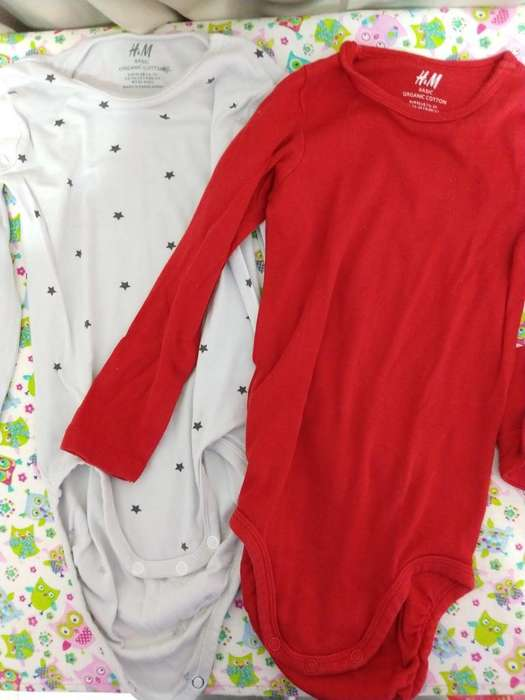 Duo Bodys H&m Talle 1 1/2 -2 Años