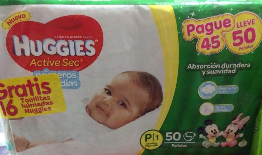 Huggies P1 X 50