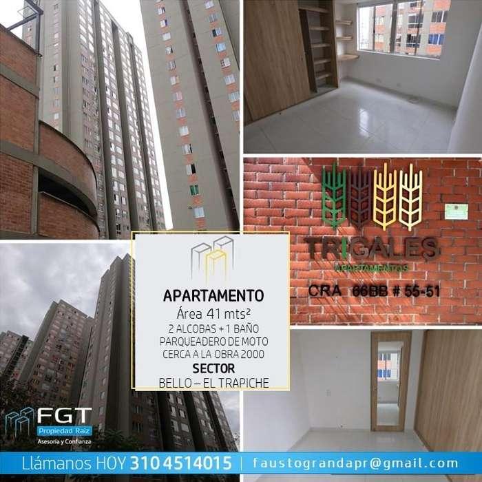 Vende Apartamento Bello El Trapiche