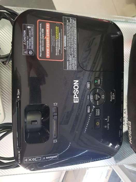 Proyector Epson S12 2800 Lumens Control