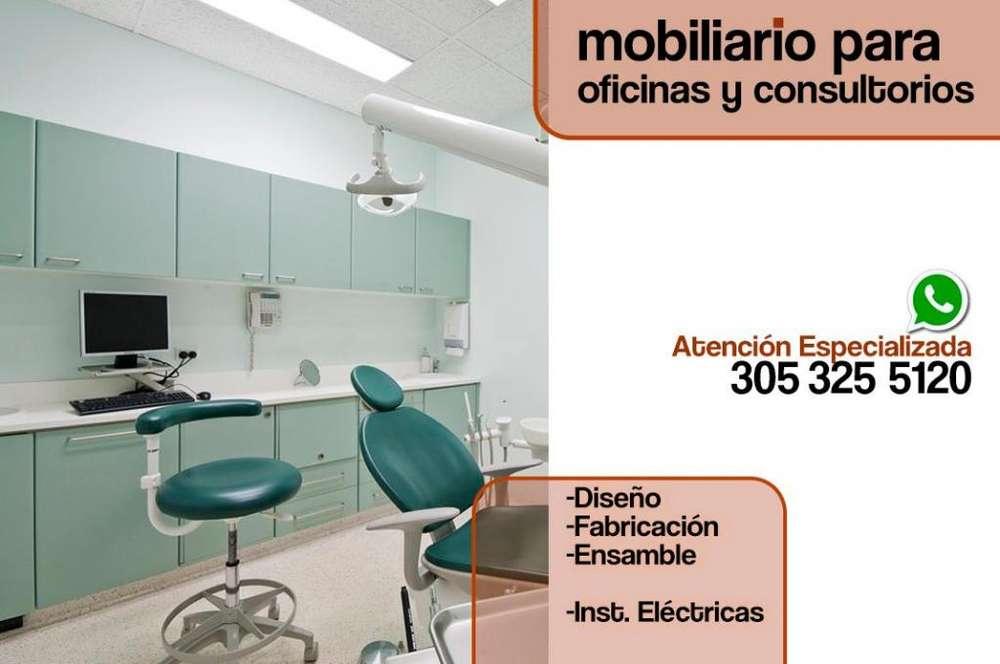 MOBILIARIO PARA CONSULTORIOS, para odontólogos, esteticistas, ópticas. Muebles a medidas funcionales