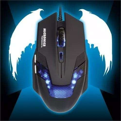 Mouse Gamer Led Micronics Therodactil