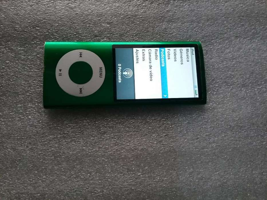 <strong>ipod</strong> Nano 16 Gb Verde Camara Radio Video