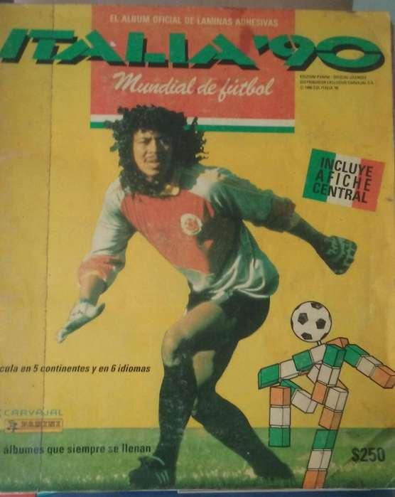 Album Panini Italia 1990