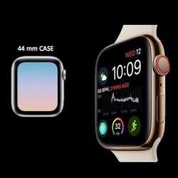 Reloj Apple Serie 4. ahora 15 por ciento más de display. iWatch. S4 Apple Watch