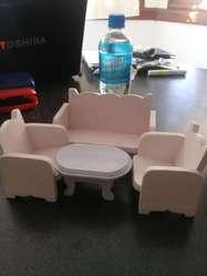 juego de sillones de juguete de madera 120