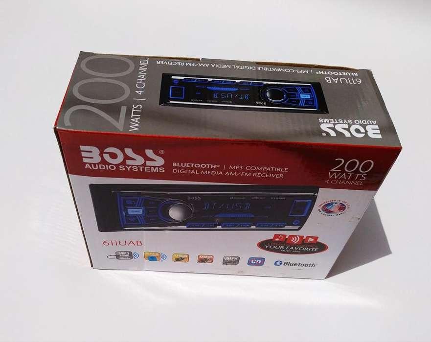 Radio Bluetooth 1 Din Usb Aux Oferta