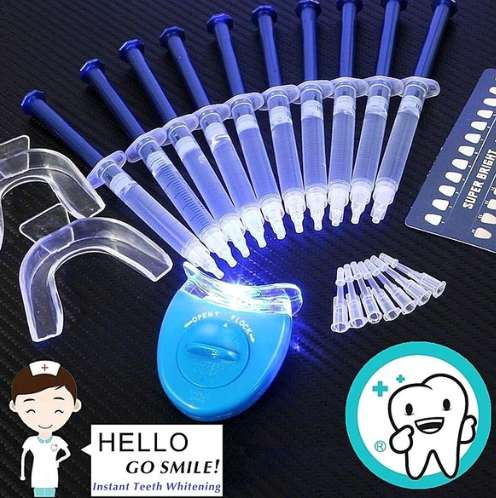 Kit de blanqueamiento dental.